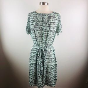 NWT Banana Republic Mint and Grey Dress